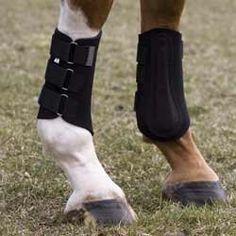 Neoprene Splint Boots - Navy by English Riding Supply. $19.95