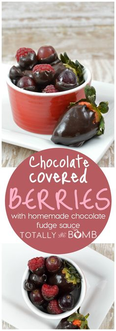 Five Approaches To Economize Transforming Your Kitchen Area Chocolate Covered Berries With Homemade Chocolate Fudge Sauce Chocolate Fudge Sauce, Homemade Chocolate, Easy Cooking, Cooking Recipes, Easy Desserts, Dessert Recipes, My Burger, Great Recipes, Amazing Recipes