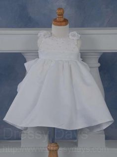 Christening Gown with Tiered Skirt