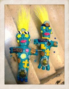 NOLA voodoo dolls