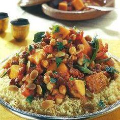 Marokkaanse groententajine