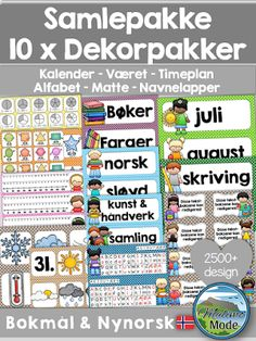 Browse educational resources created by Malimo - norsk undervisningsmateriell in the official Teachers Pay Teachers store. Learning Games, Lesson Plans, Periodic Table, Language, Clip Art, Classroom, How To Plan, Education, Tips