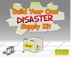 Campers! Race the clock to build your own disaster supply kit! Play the game, read the book, color and learn how you can #BePrepared. Share or display your artwork! #FLHealthCamp