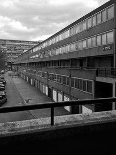 Chartridge 2, Aylesbury Estate, London, Hans Peter Trenton, London Borough of Southwark's Architecture Department, 1963-1977 Photo: Simon Phipps