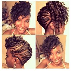 Cool Up Do Black Women Natural Hairstyles | Hair and Beauty