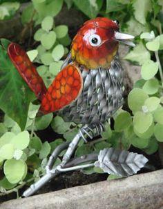 Red Metal Bird. $25 Available at www.mondusdistinction.com
