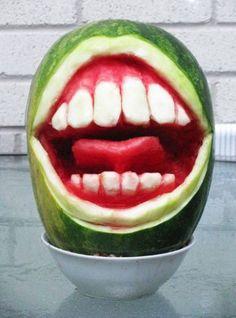 Арбузная полость рта #стоматология #dentistry