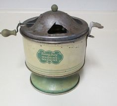 Vintage Sunny Suzy Toy Washing Machine Wolverine, Pittsburgh, Pa. Used Condition #Wolverine