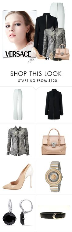 """Versace  total look"" by dgia ❤ liked on Polyvore featuring Versace and Versace 19•69"