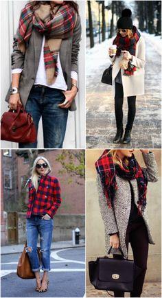 winter style: plaid inspiration