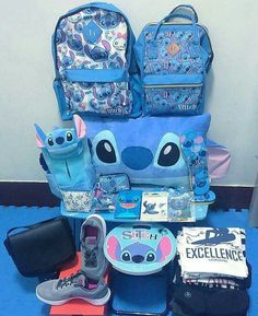 Back to school with stitch! Cute Disney Outfits, Disney Style, Disney Love, Cute Outfits, Lilo And Stitch Quotes, Lilo Et Stitch, Stitch Disney, Stitch And Angel, Cute Stitch