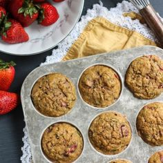 Bake these moist, low-calorie zucchini muffins made with all natural ingredients, packed with flavor and has a hidden serving of vegetables!