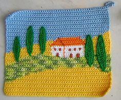 ColoridoEcletico: Uma casinha no alto da serra...