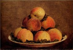 Peaches - Henri Fantin-Latour