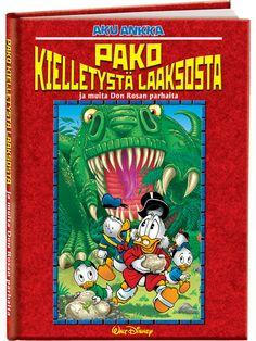 Pako Kielletystä laaksosta (Don Rosa) Don Rosa, Walt Disney, Comic Books, Comics, Cover, Art, Art Background, Kunst, Cartoons