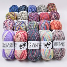 Sock Yarn Lucky Bag - 5 Balls from Happy Sheep