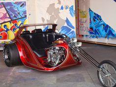 AEE Choppers: Big Twin  Dave Brackett originally built this bike