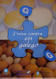 [Servizo de Normalización Lingüística do Concello da Coruña e Federación Galega de Comercio, 2010] Shopping, Nail, Santiago De Compostela