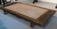 Antique Asian Furniture: Daybed (Lohan) from Shanxi Province, China