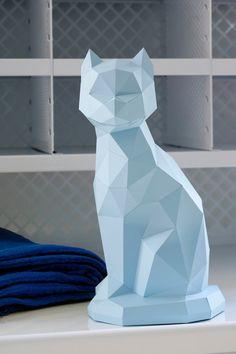 Chat en origami