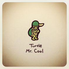 Turtle Mr. Cool