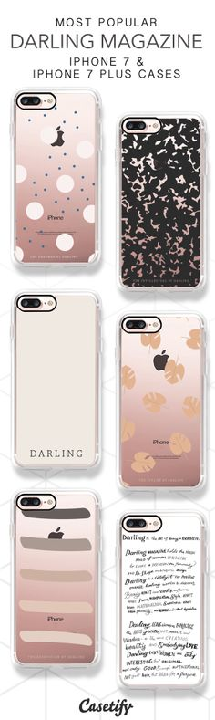 Most Popular Darling Magazine iPhone 7 Cases & iPhone 7 Plus Cases here > https://www.casetify.com/DarlingMagazine#/ #iphone7plus,