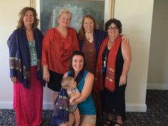 In three different cities across the country on the Summer Solstice we held the Tree of Life/10 Points of Light Ceremony honoring women around the world. Here is our Ft. Myers, Florida group. Led by talented healer, drummer, women's leader Dolores Gozzi (on the far right) - the women and baby boy are reflecting the illumination of the scarf.