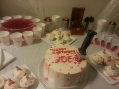 The Dexter party we threw for joejoe!!!