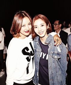 Lee HyoRi 이효리 with Son DamBi