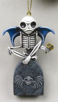 Guardian Skelly Skeleton Ornament [8054] - $13.49 : Mystic Crypt, the most unique, hard to find items at ghoulishly great prices!