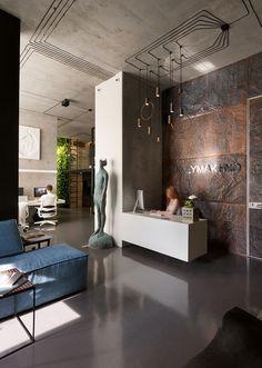 минималистичный лофт-интерьер архитектурной мастерской Сергея Махно