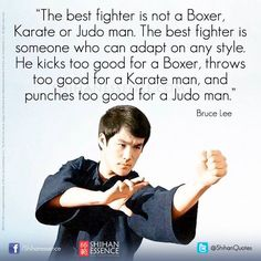 Bruce Lee on being the best fighter. #martialarts #bruceless