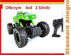Monster NQD Rock King 4x4 2 Silniki 32cm FILM!!!