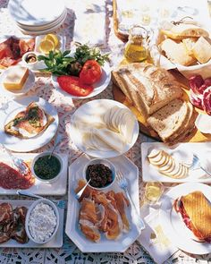 spread for making sandwiches or paninis