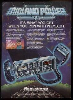 CB radio ad from the '70s. Do people still use CB radios?