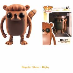 Funko Pop! Regular Show - Rigby Vinyl Figure