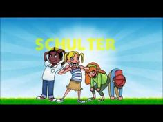 Kopf, Schulter, Knie und Zeh Head, Shoulders, Knees and Toes german original - YouTube