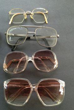 b2d753ac6469 Eyeglasses Lot of 4 Pairs Vintage Mens   by ShopVintageDelirium Glasses  Case