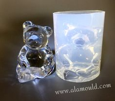 Bear Mold. Clear Silicone Mold For Large Bear. Home by ALAMOULD