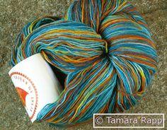 PopinjaySeries 4 - handgefärbtes Lacegarn von HerzKönigin auf DaWanda.com
