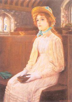 Arthur Hughes ~ Pre-Raphaelite painter