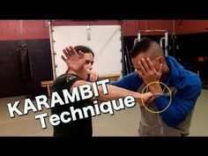 KARAMBIT Takedown Technique: Kali, Arnis, Escrima - Filipino Martial Arts