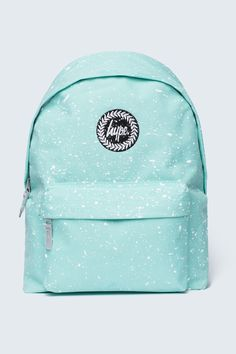 HYPE MINT WITH WHITE SPECKLE BACKPACK