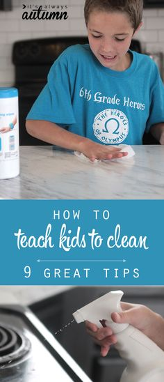 great tips and tricks for teaching kids how to clean! plus $100 target giveaway. #sponsored #onlyattarget