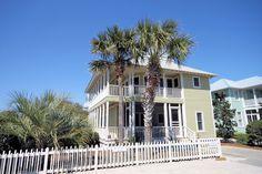 Real Estate Seaside FL Properties Condos Cottages Homes Beach Cottage Exterior, Seaside Florida, Destin Beach, Cottage Homes, Beach Cottages, Ideal Home, Condo, Pergola, Real Estate