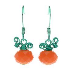 Tutorial - How to: Petite Pumpkin Earrings   Beadaholique
