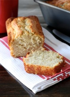 Buttermilk Banana Bread Recipe on twopeasandtheirpo... The BEST banana bread ever! You will never make another recipe!