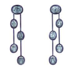 yael sonia jewelry | Diamants & titane, Hokusai réinventé
