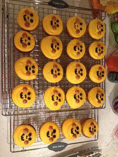 pikachu cupcakes!