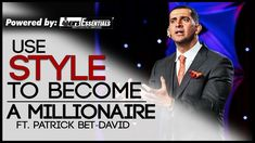 How To USE STYLE to BECOME A MILLIONAIRE ft. Patrick Bet-David   Importance of Style in Business   More on Instagram - More on Instagram - http://ift.tt/1wVZjWV  Mayank sits down with Patrick Bet-David. the CEO of PHP Agency Inc. and the host of Valuetainment for an in-depth series on entrepreneurship personal image and business.  This is the second episode of the series. Hope y'all enjoyed it!  Patrick's YouTube channel Valuetainment -   https://www.youtube.com/user/patrickbetdavid…